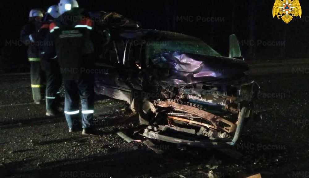 В Жуковском районе в страшной аварии на трассе пострадали люди