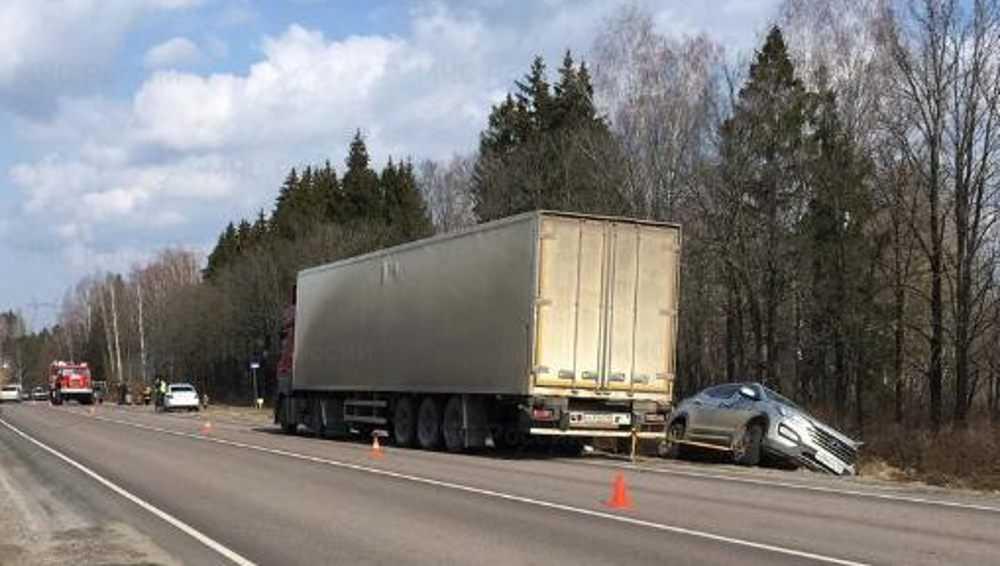 В Жуковском районе в очередном ДТП на автотрассе погиб мужчина