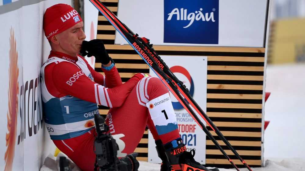 Брянский лыжник Александр Большунов получил серебро марафона