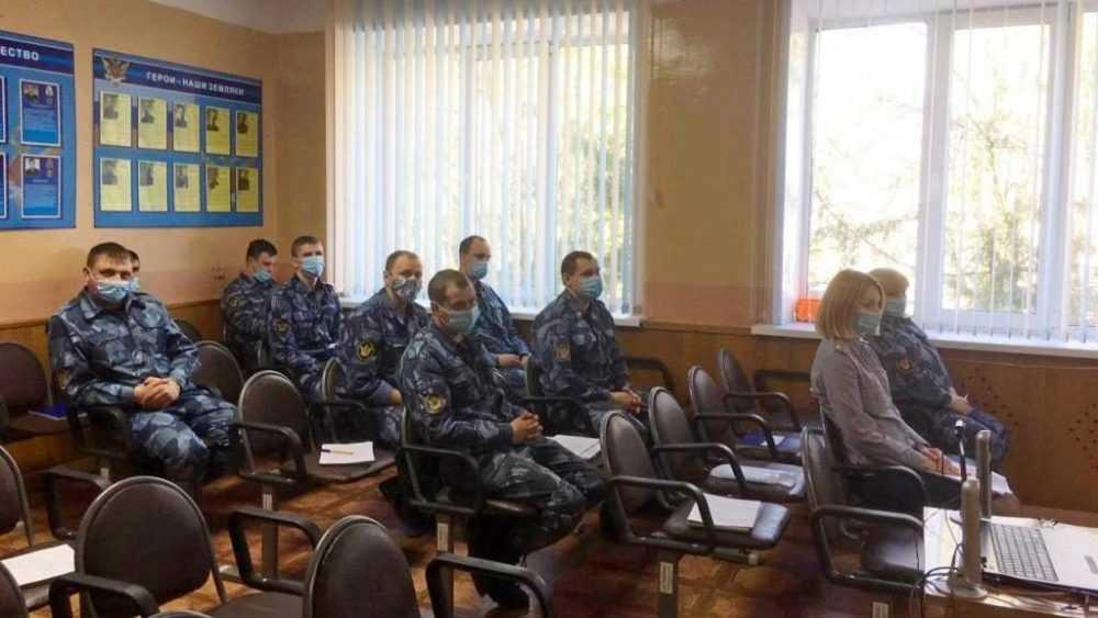 В КП-3 состоялось занятие с личным составом по вопросам соблюдения антикоррупционного законодательства