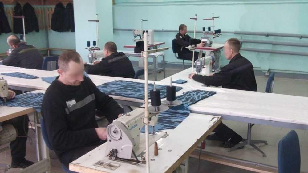 В брянской колонии № 4 открылся новый швейный участок