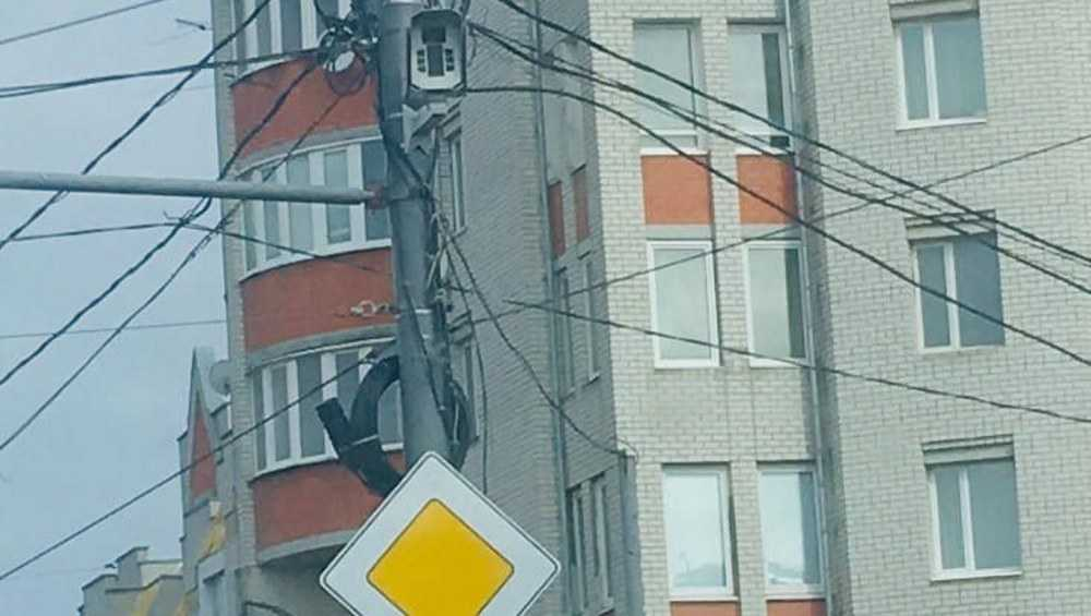 В Брянске на Авиационной установили камеру фиксации дорожных нарушений
