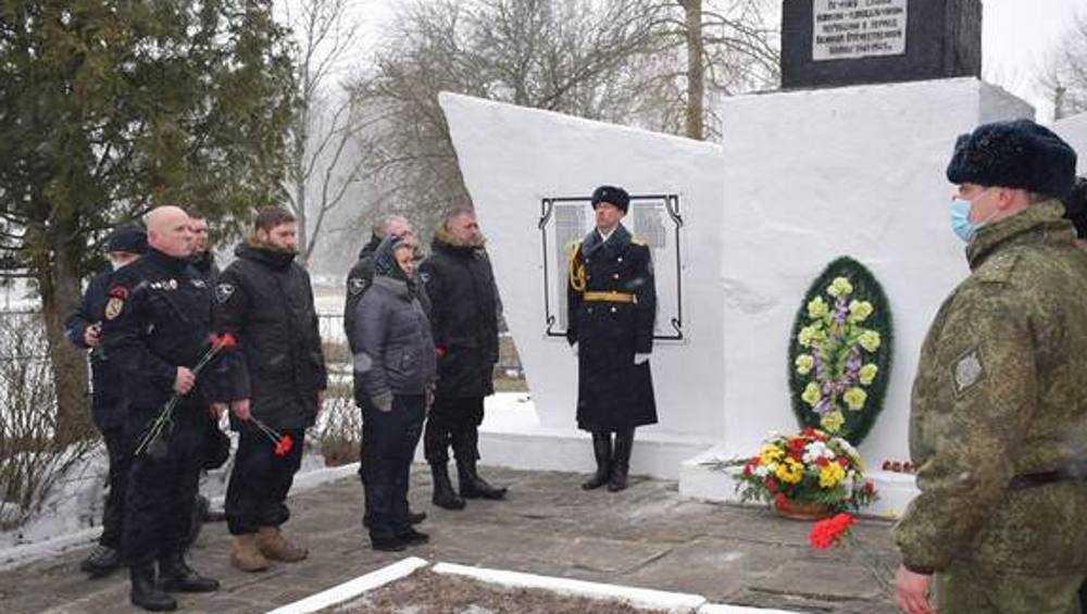 В Климовском районе Брянской области передали украинцам останки солдат