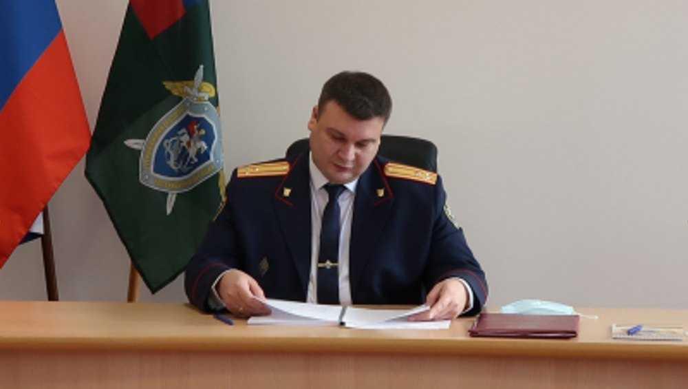 В Жуковке проведет личный прием глава Брянского управления СК Лукичев