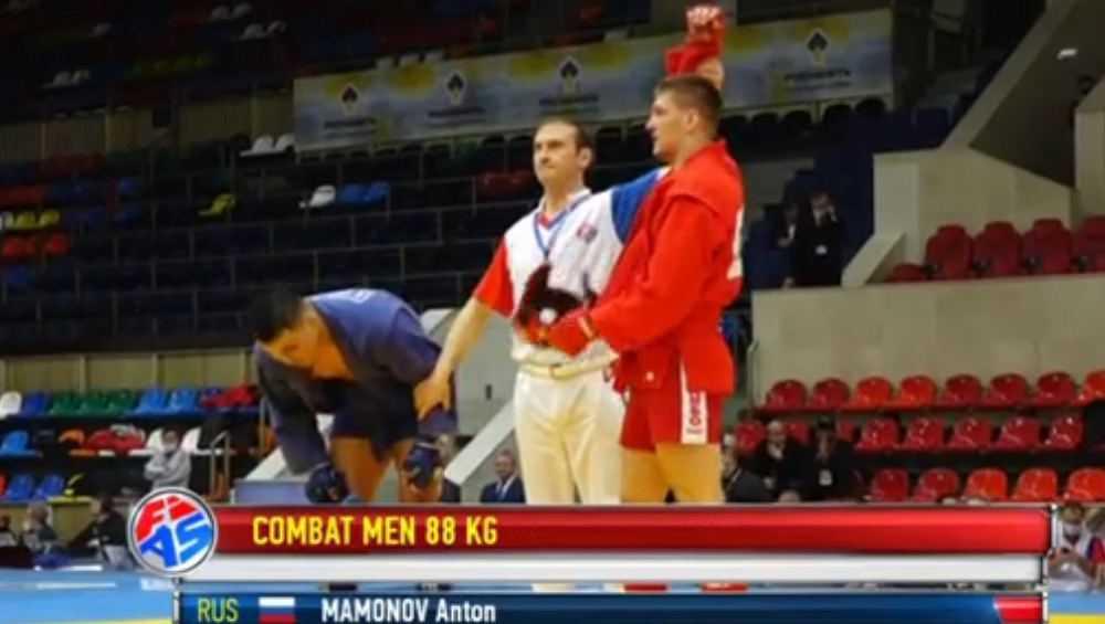 Брянский самбист Антон Мамонов победил на Кубке мира