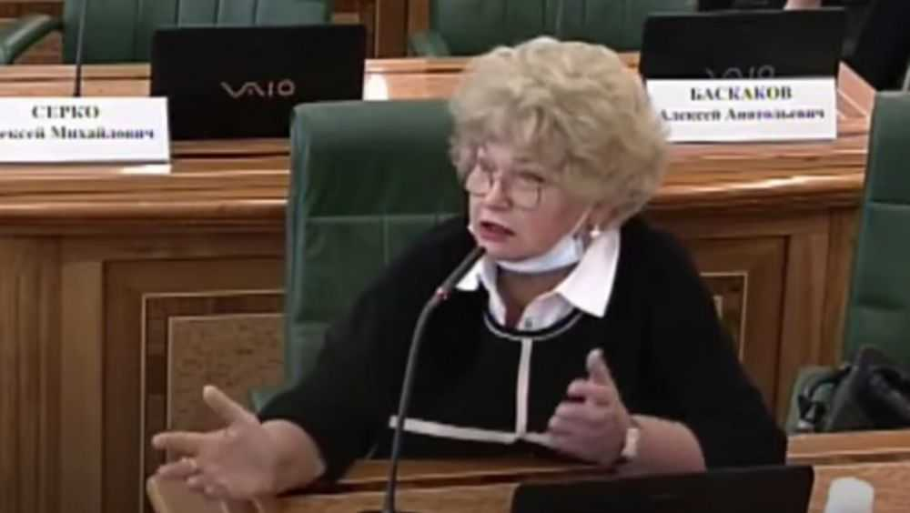 Экс-сенатор от Брянской области Нарусова невзлюбила пикеты «бомжей»