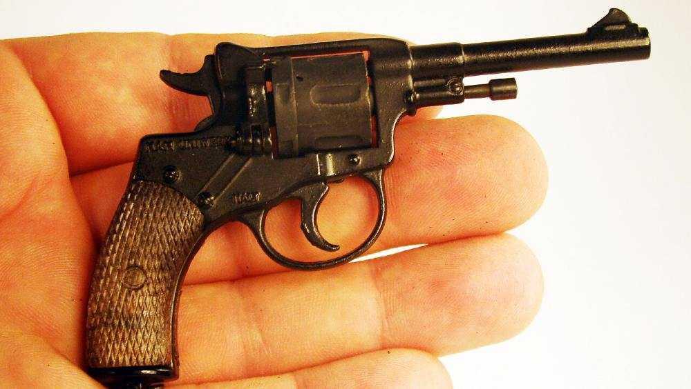 Укравшего сувенирное оружие брянца осудили на два с половиной года