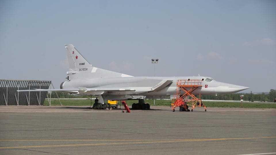 Под Калугой разбился военный самолет