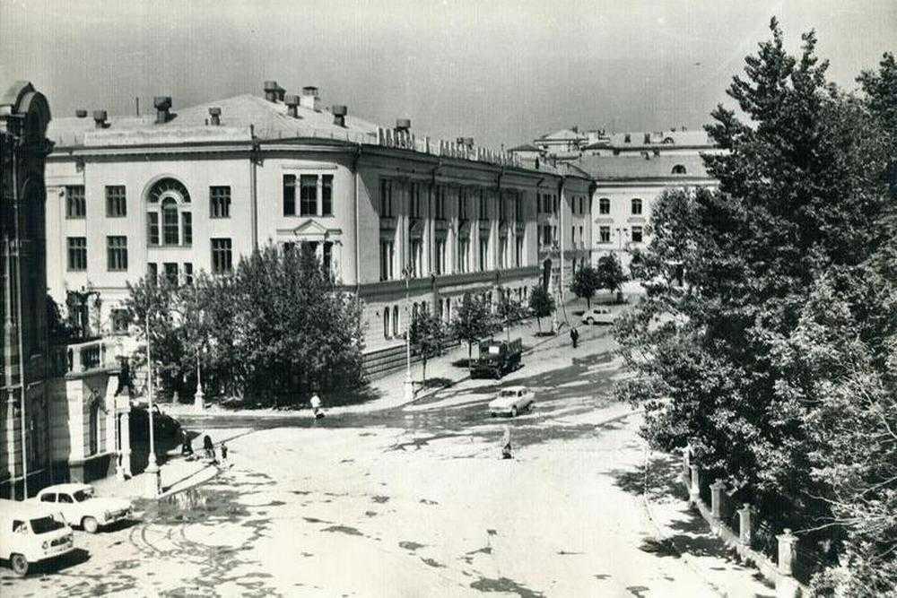 Брянск в шестидесятые годы двадцатого века