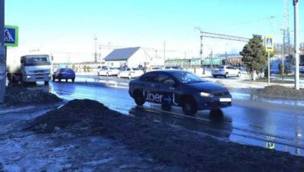 В Брянске таксист с 21 штрафом сбил на переходе 11-летнего ребенка