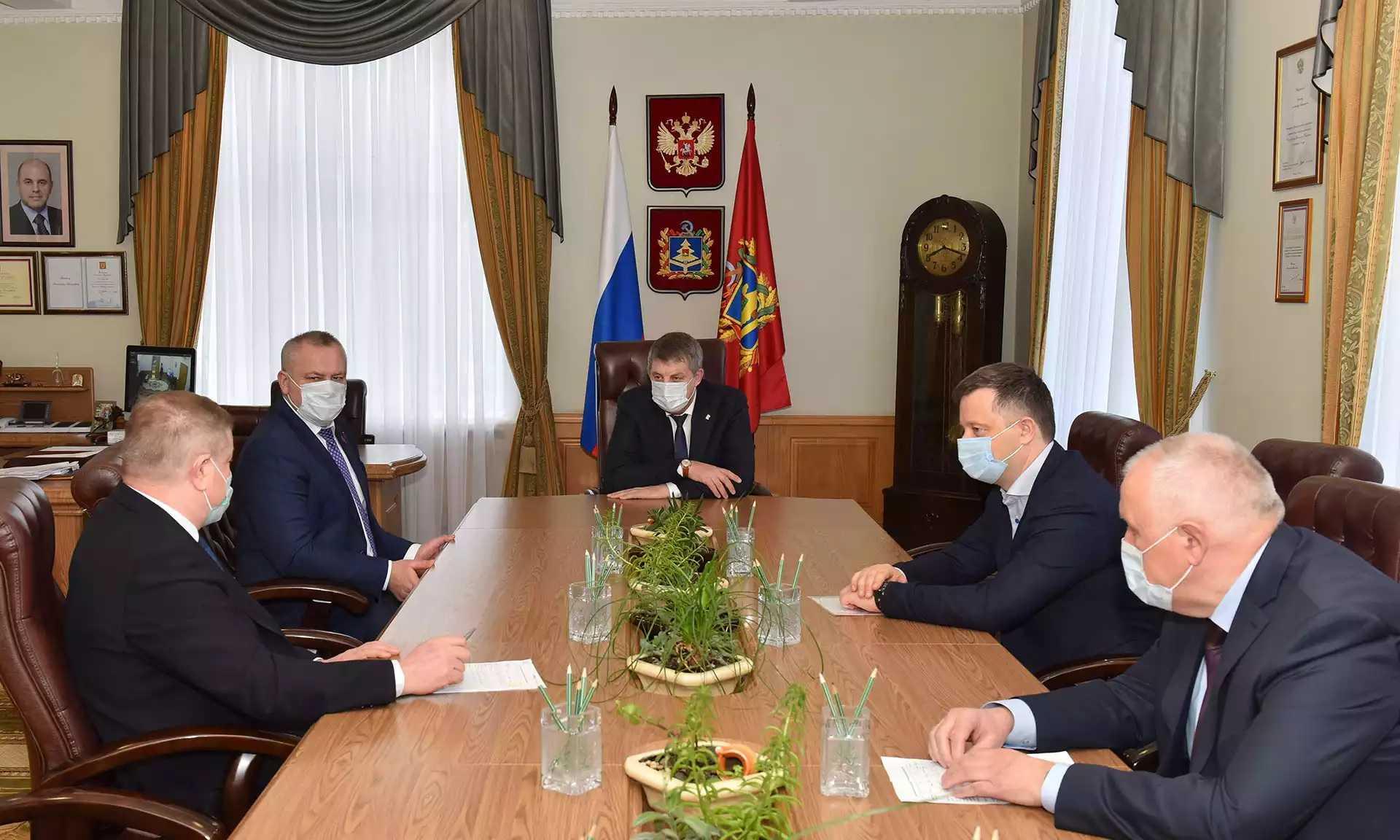 Брянский губернатор Богомаз встретился с главой компании «Веломоторс»