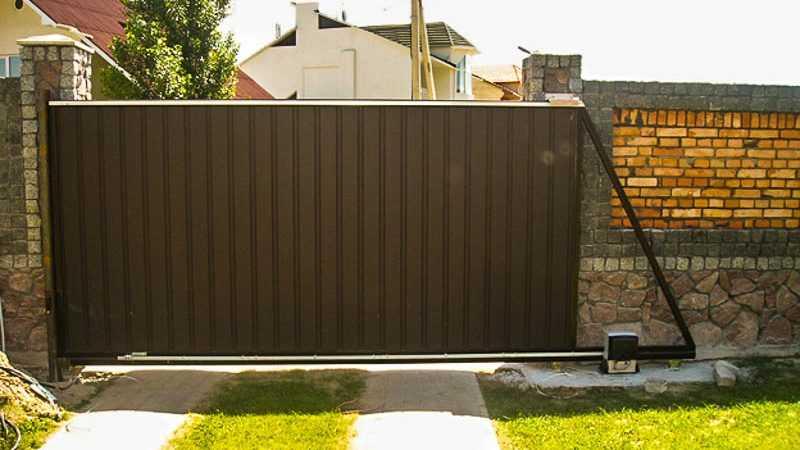 Преимущества автоматических откатных ворот