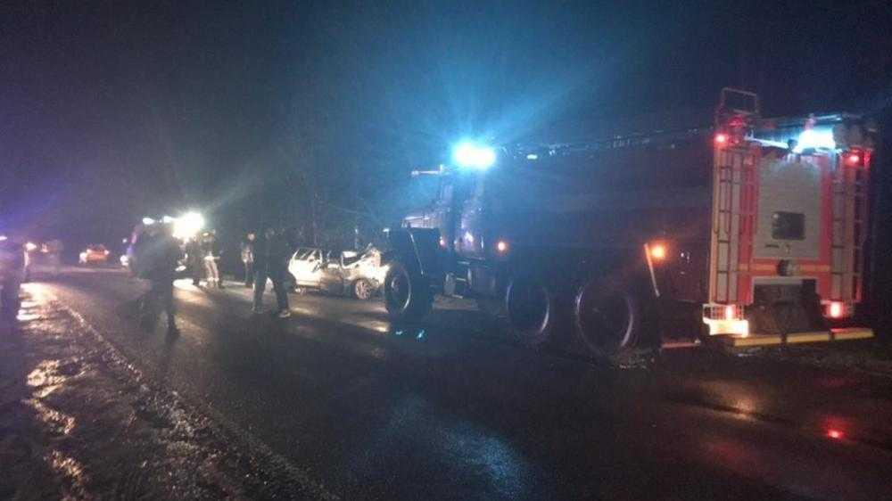 В Стародубском районе в ДТП разбился автомобиль − есть пострадавшие