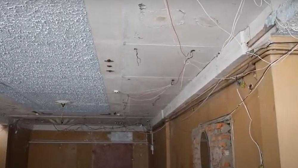 В Клинцах Брянской области сняли видео о мрачной разрухе в ЗАГСе