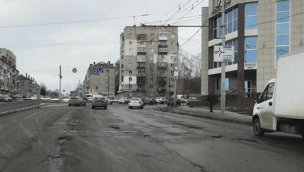 В Брянске начался ремонт дорожного кольца в Московском микрорайоне