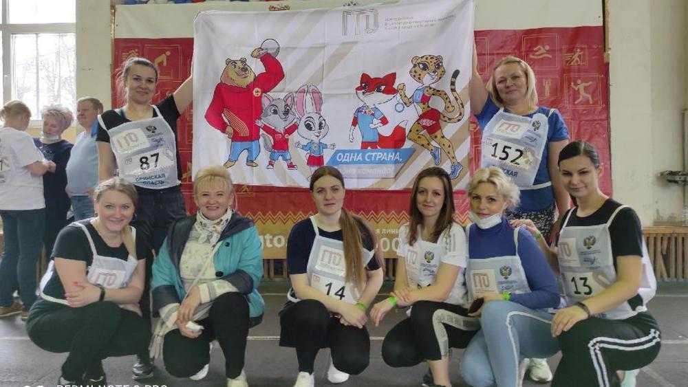 В Брянске прошел фестиваль ГТО среди ста чиновников