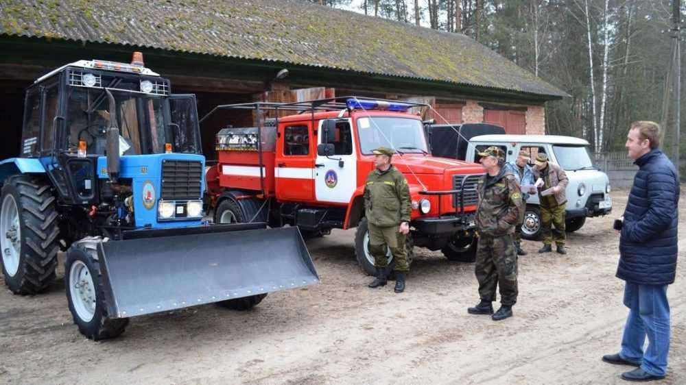 Брянские лесники приготовились к пожароопасному сезону