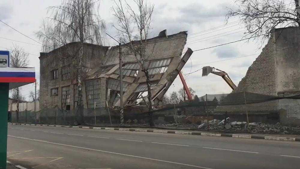 В Карачеве снесли завод, поставлявший автозапчасти московскому ЗИЛу