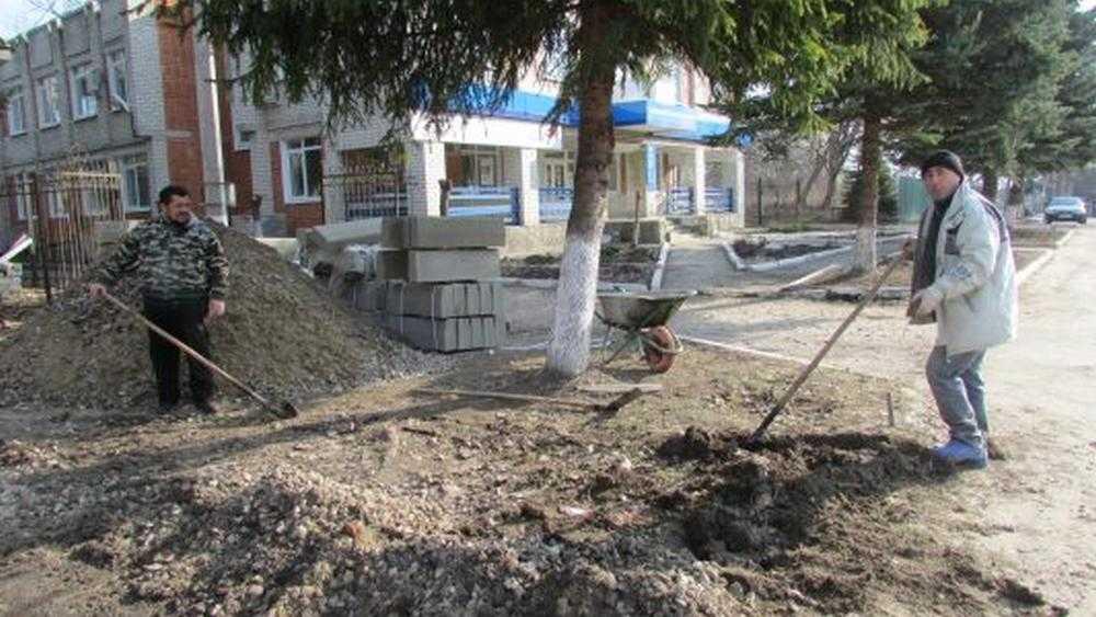 В Локте начали ремонтировать помещение для МРЭО ГИБДД