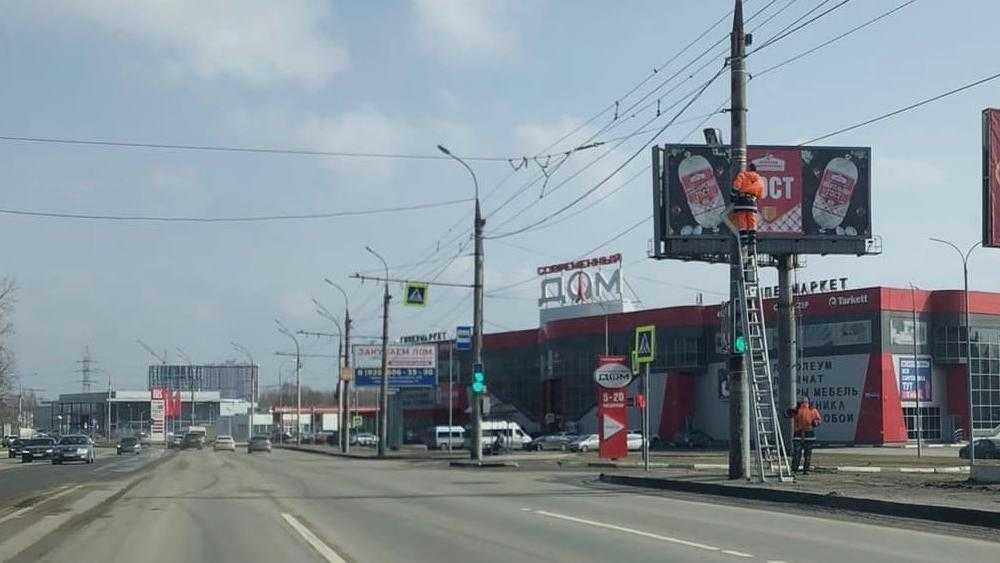 В Брянске возле Черного моста установили дорожную камеру