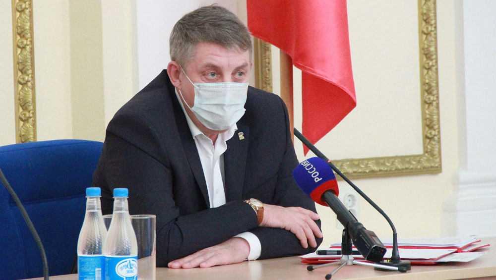 Брянский губернатор раскритиковал ход прививочной кампании в регионе