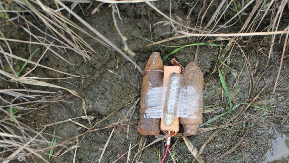 Под Жуковкой бойцы ОМОН обезвредили снаряды времён войны