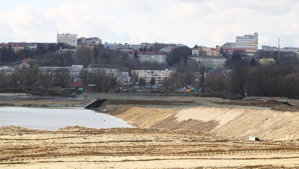 Строительство дороги от Metro к вокзалу Брянск-I приостановил паводок