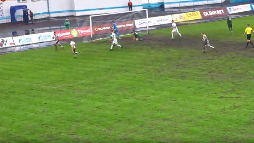 Брянское «Динамо» одержало победу над «Краснодаром-2» со счетом 2:1