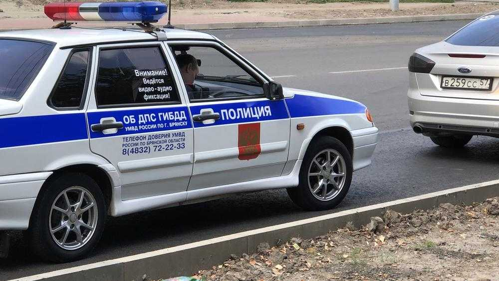 В Брянске сотрудники ГИБДД объявили операцию «Нетрезвый водитель»