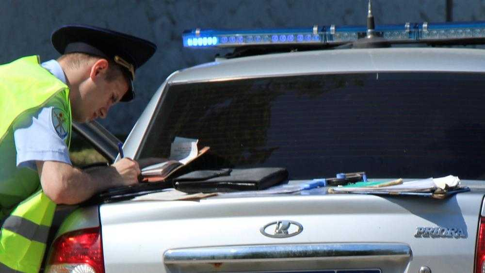 В Брянске пьяный 33-летний водитель спровоцировал серьезное ДТП