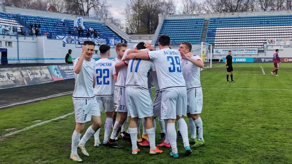 Вылетевшее из ФНЛ брянское «Динамо» обыграло столичный «Велес»