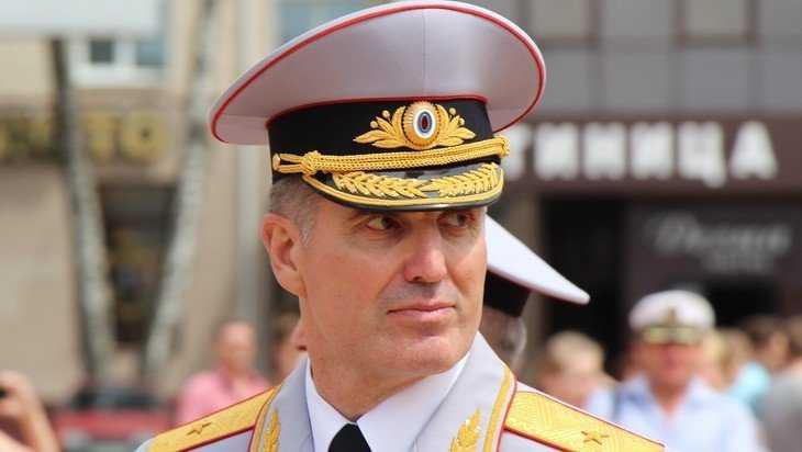 Бывший начальник УМВД Брянской области Валентин Кузьмин отметил 60-летие
