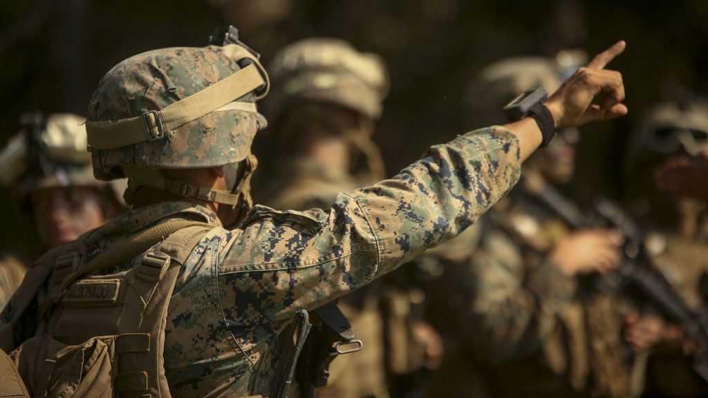 В Донбасс прибыли военные специалисты США