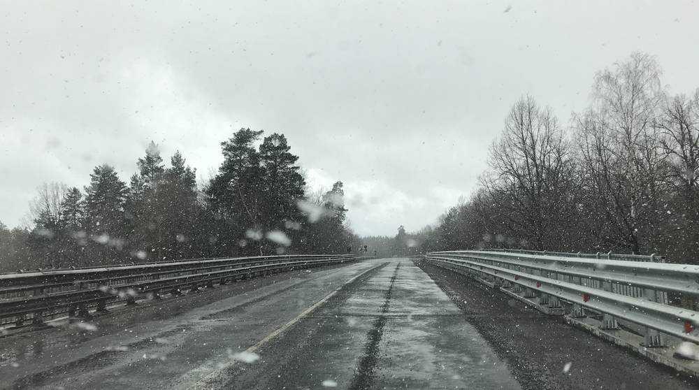 На брянском участке трассы «Украина» после ремонта открыли мост
