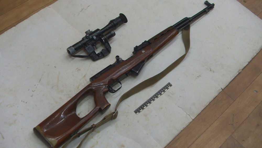 У жителя Дятькова полицейские изъяли два ППШ, винтовку и 9 пистолетов