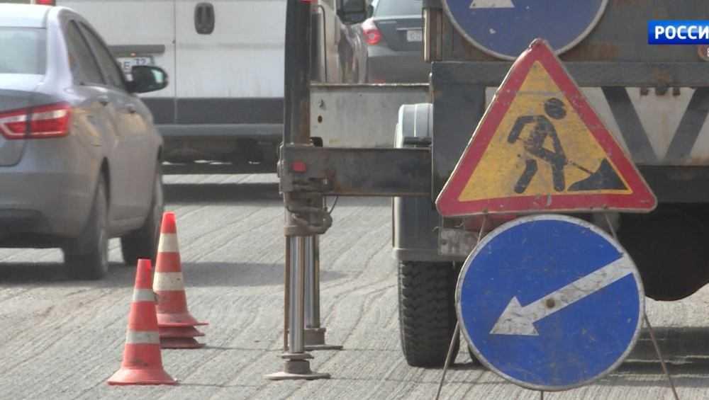 В Брянске на проспекте Станке Димитрова начали капремонт дороги