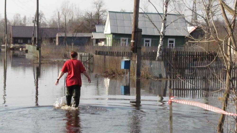 Первый канал рассказал о подтоплениях в Брянской области