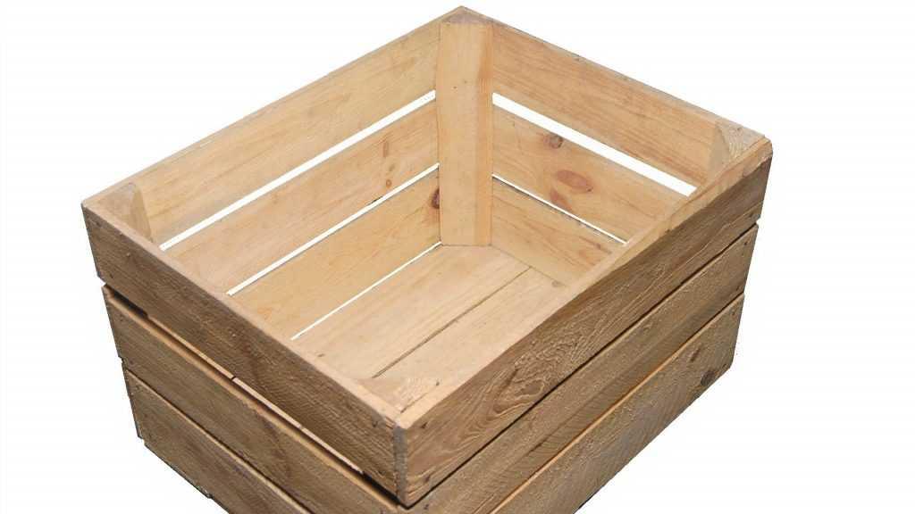 Деревянный ящик как универсальная тара