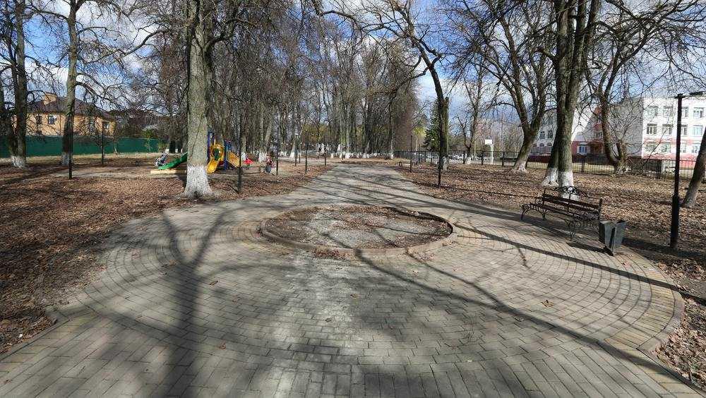 Брянский сквер Комсомольский включен в список для голосования по благоустройству