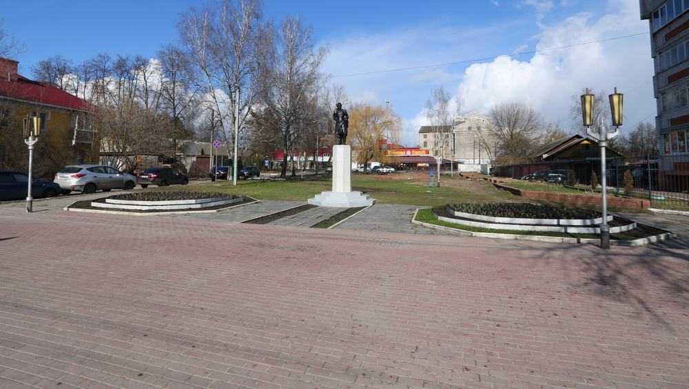 В Брянске сквер имени Пушкина внесли в список для голосования по благоустройству