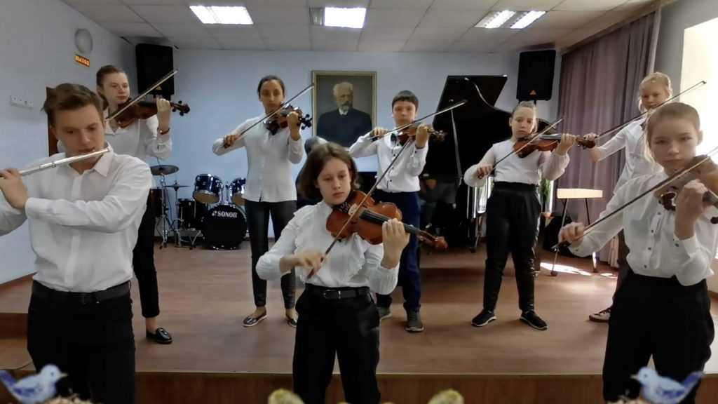 Детская школа искусств имени Чайковского подарила брянцам пасхальный концерт