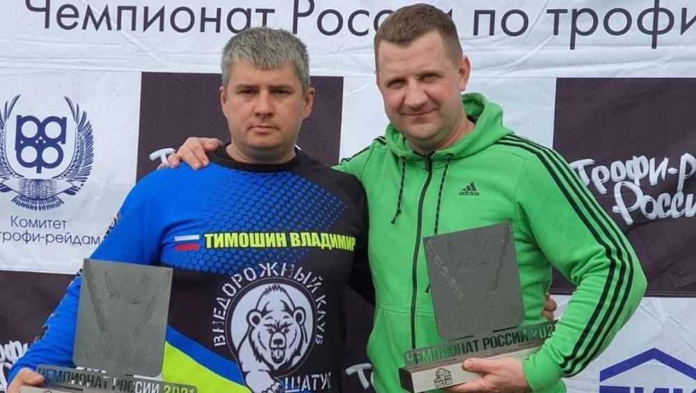 Брянский экипаж победил на чемпионате России в гонке внедорожников