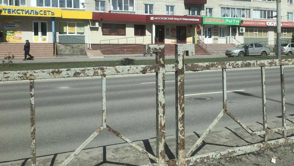 По казне Брянска нанесли сокрушительный удар ржавым забором
