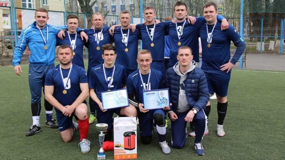 Мини-футбольная команда УФСИН России по Брянской области стала победителем чемпионата силовиков