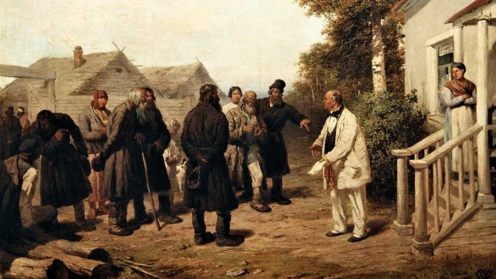 Жителей брянского поселка отбросили в средневековье