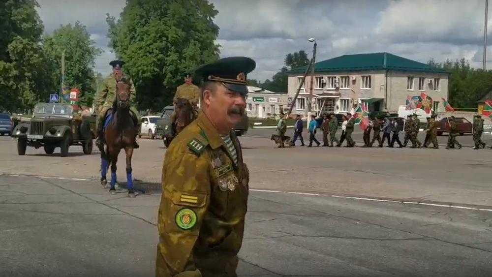 В Брянской области 28 мая отпраздновали День пограничника