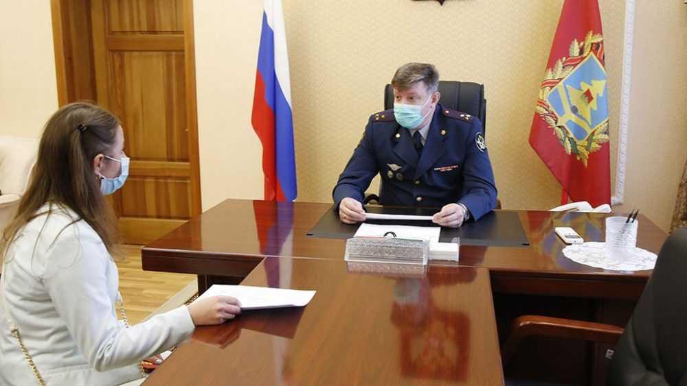 Глава Брянского УФСИН Сергей Герасимов провел прием граждан в приемной президента