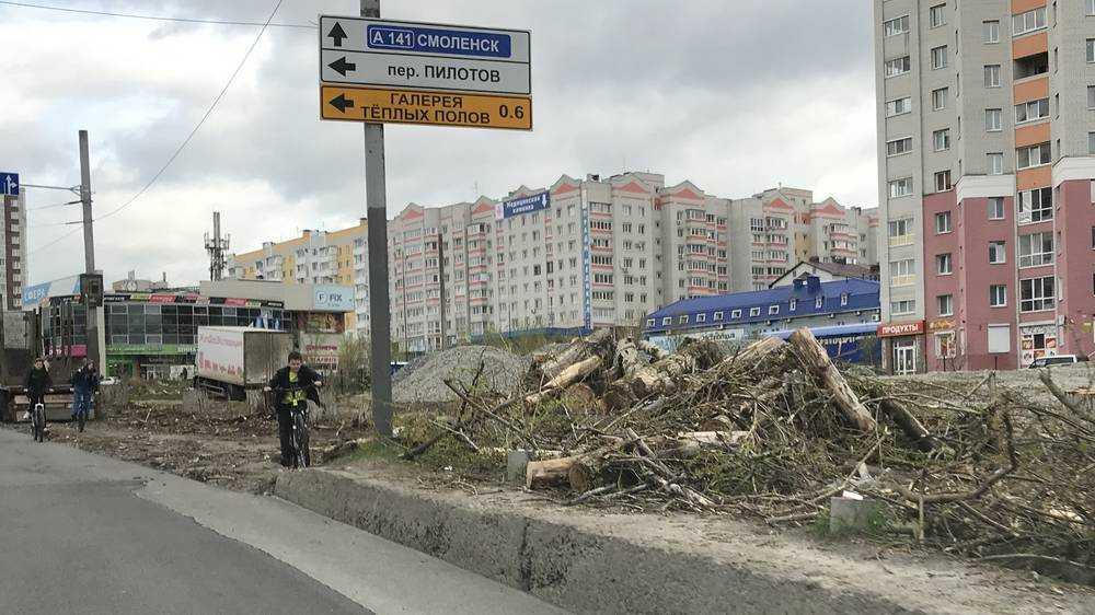 В Брянске на Объездной улице с 15 мая из-за ремонта на два дня закроют движение