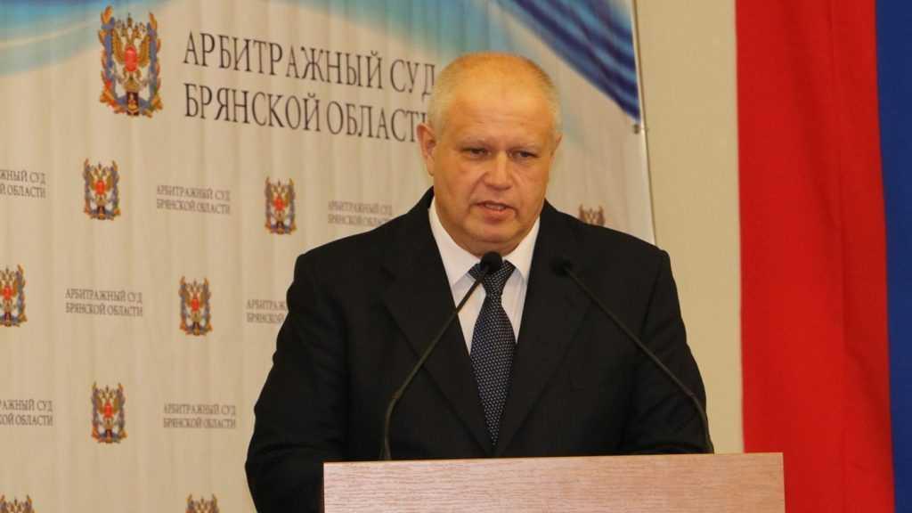 Председатель Арбитражного суда Брянской области Евгений Егоров заработал за год 3,7 млн рублей