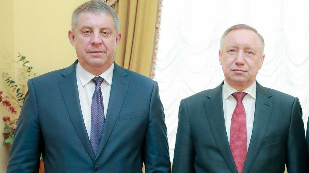 Брянский губернатор Богомаз и глава Петербурга Беглов обсудили сотрудничество